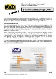 Betriebskostenspiegel 2007 - Mieterverein Dresden und Umgebung ...