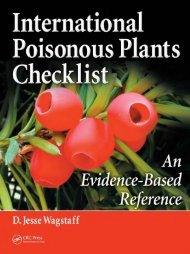 International Poisonous Plants Checklist : an Evidence-based ...
