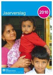 Jaarverslag 2010 - SOS Kinderdorpen