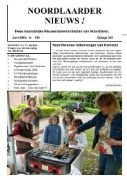 dorpskrant, nr. 186 - juni 09 - Noordlaren.eu