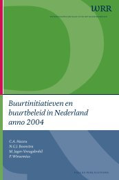 Buurtinitiatieven en buurtbeleid in Nederland anno 2004 - Oapen