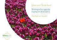 Strategische agenda mainport 2010-2013 - Greenport Holland