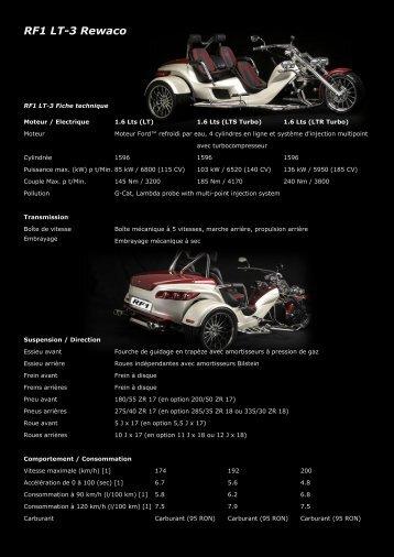 RF1 LT-3 Rewaco - Mikes-Trike-Garage