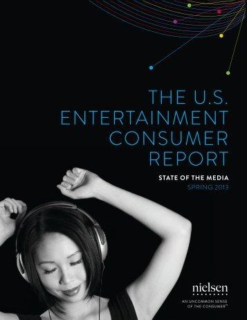 THE U.S. ENTERTAINMENT CONSUMER REPORT