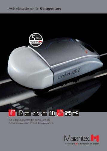 Antriebssysteme für Garagentore - Radman Rollladen