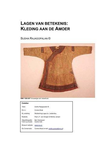 Lagen van Betekenis - Museum Volkenkunde
