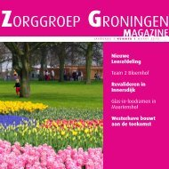 Welkom bij Zorggroep Groningen