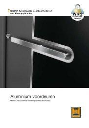 Download de brochure Aluminium voordeuren (.pdf) - JaBro Deuren