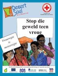 Stop die geweld teen vroue - Desert Soul