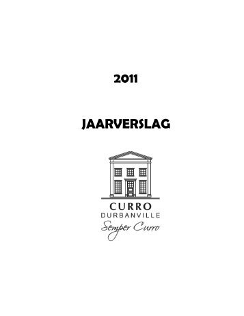 2011 JAARVERSLAG - Curro Private School