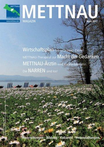 Ausstellungen · Bildung · Kabarett · Veranstaltungen - mettnau