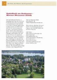 Radolfzell am Bodensee - Werner-Messmer-Klinik - mettnau