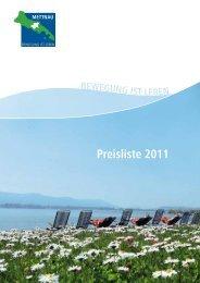 Preisliste 2011 - Qype