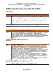 Workshops - Stiftung Mitarbeit