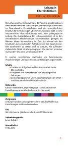 Fortbildungsprogramm - MitInitiative eV - Seite 5
