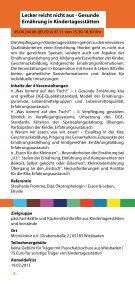 Fortbildungsprogramm - MitInitiative eV - Seite 6