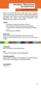 Fortbildungsprogramm - MitInitiative eV - Seite 7
