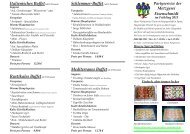 Italienisches Buffet(ab 15 Personen) - Metzgerei Eisenschmidt