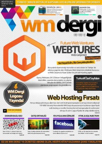 WM Dergi - 3.SAYI