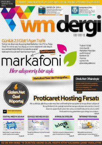 WM Dergi - 4.SAYI
