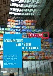 Huidige selectiecriteria en de online documentaire HOOFDSTUK 4 ...