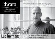 download PDF - dwars - Universiteit Antwerpen