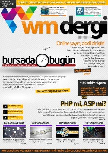 WM Dergi - 11.SAYI