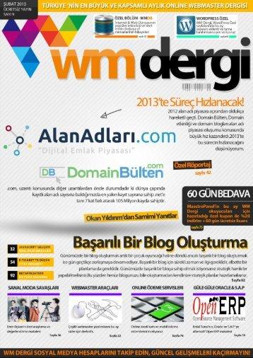 WM Dergi - 9.SAYI