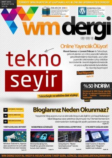 WM Dergi - 10.SAYI