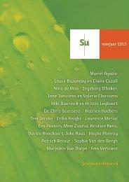 SU - aanbieding voorjaar 2013 - Standaard Uitgeverij