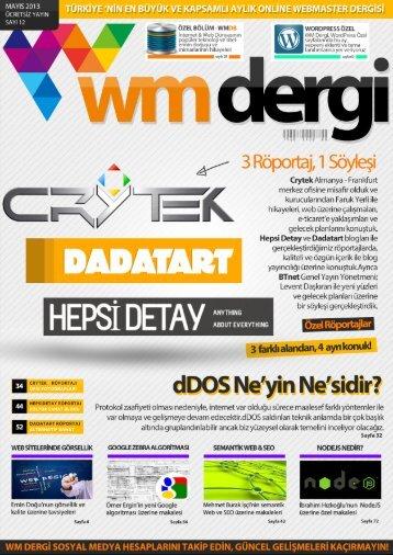 WM Dergi - 12.SAYI