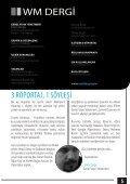 WM Dergi - 12.SAYI - Page 5