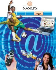 Aflaai (4MB) PDF - Naspers