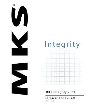 MKS Integrity 2009 Integrations Builder Guide