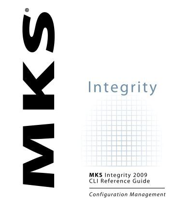MKS Integrity Configuration Management CLI Reference