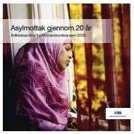 Asylmottak gjennom 20 år - UDI