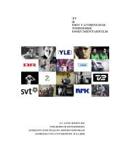 TV & Den uavhengige nordiske dokumentarfilm - Filmepidemin