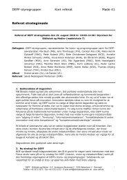 Referat af DEFF Styregruppemøde 41