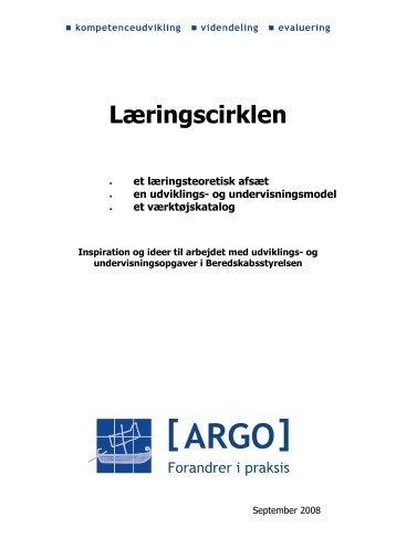 Læringscirklen - Konsulentfirmaet ARGO