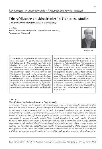 1 Roos.pmd - Suid-Afrikaanse Tydskrif vir Natuurwetenskap en ...