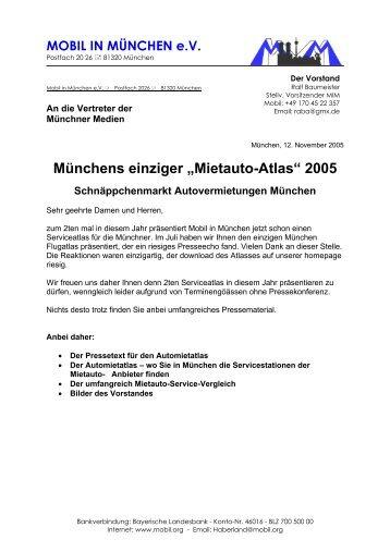 Münchens einziger