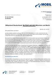 Blitzerland Deutschland: BLITZATLAS 2012 München und Berlin