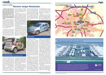 Münchens einziger Mietautoatlas Münchens einziger Mietautoatlas ...