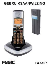 Fysic FX-5107 - Phone Master