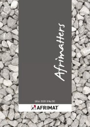 Edition 2012/01 30 May 2012 - Afrimat