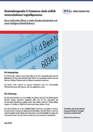 Zur Success Story - MS Mail Service
