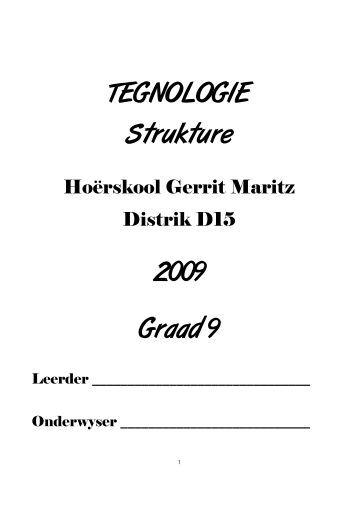 Natuurwetenskappe en Tegnologie Graad 4-B Onderwysersgids