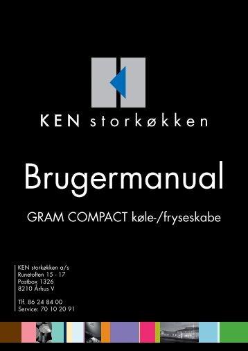 GRAM COMPACT køle-/fryseskabe - KEN Storkøkken