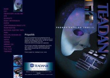 Teadan Katalog A5
