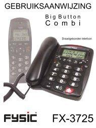 Fysic FX3725 - Phone Master